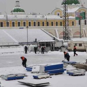"""фото Стадиону """"Химик"""" требуется помощь добровольцев"""