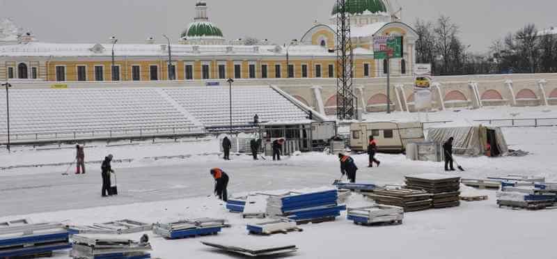 """Стадиону """"Химик"""" требуется помощь добровольцев"""