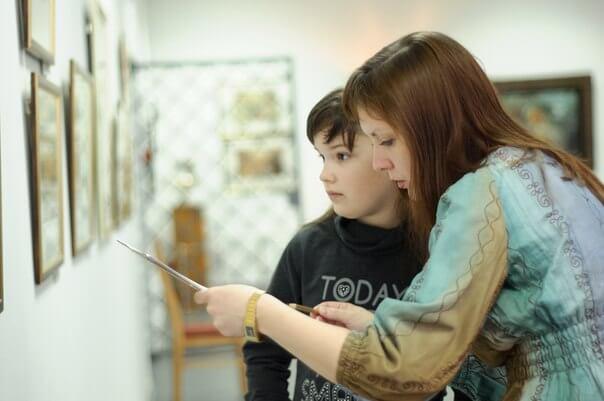 В Тверской картинной галерее проводятся культурные квест-игры для детей