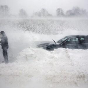 фото На территории Тверской области ожидается усиление ветра и метель