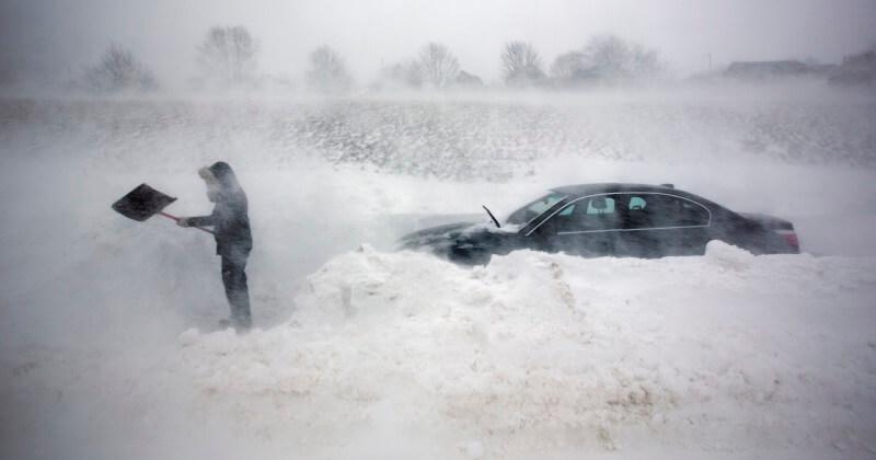 На территории Тверской области ожидается усиление ветра и метель