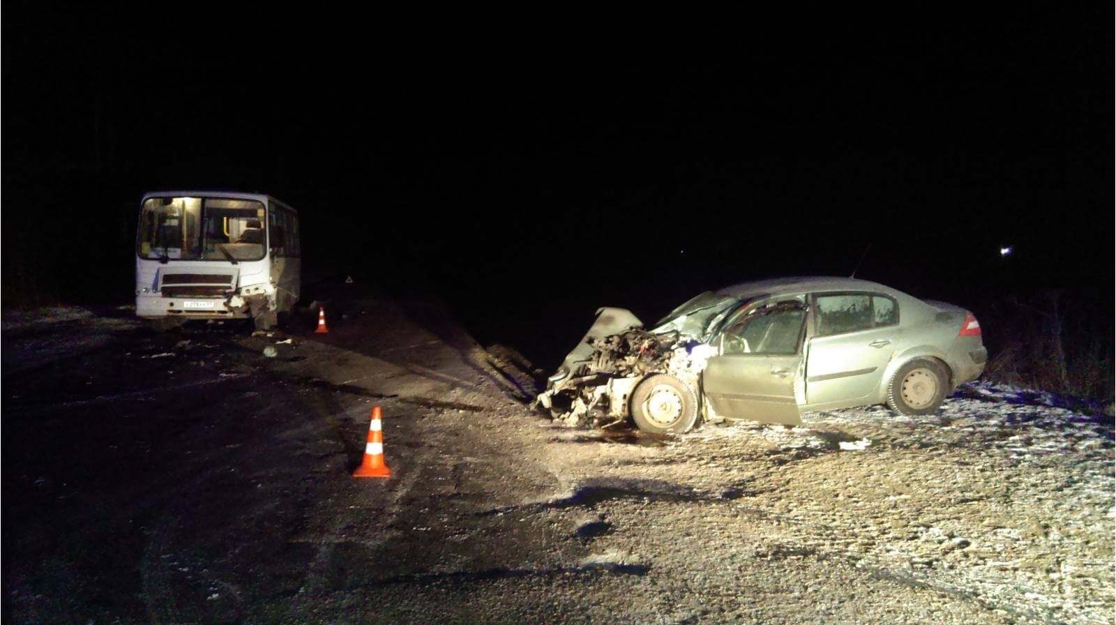 31 декабря и 1 января на территории области в 6 ДТП пострадали 7 человек