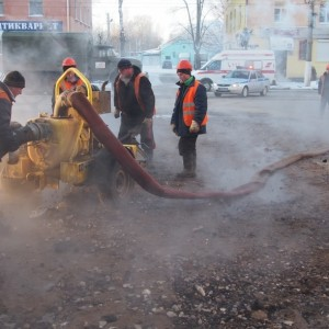 фото По факту прорыва трубопровода в Твери проводится доследственная проверка