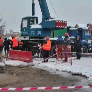 фото Вслед за Московским районом Твери прорыв трубопровода произошел на Соминке