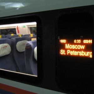 фото Пассажирам поездов «Сапсан» доступны билеты по цене от 999 рублей