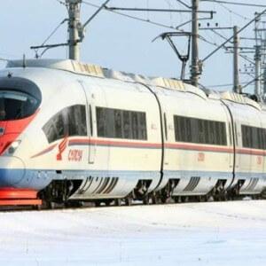 """фото Перевозки пассажиров поездами """"Сапсан"""" в 2017 году выросли более чем на 6 %"""
