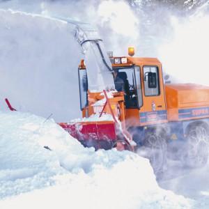 фото Более 180 дорожных машин круглосуточно убирают снег на трассе М-10 «Россия»