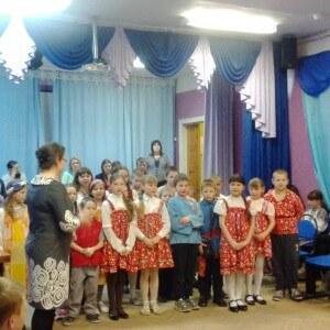 фото Волонтеры провели вечер рождественских колядок для детей в Медновской школе-интернате