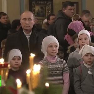 фото Владимир Путин на Рождество посетил Тверскую область