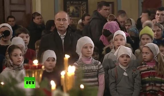 Владимир Путин на Рождество посетил Тверскую область