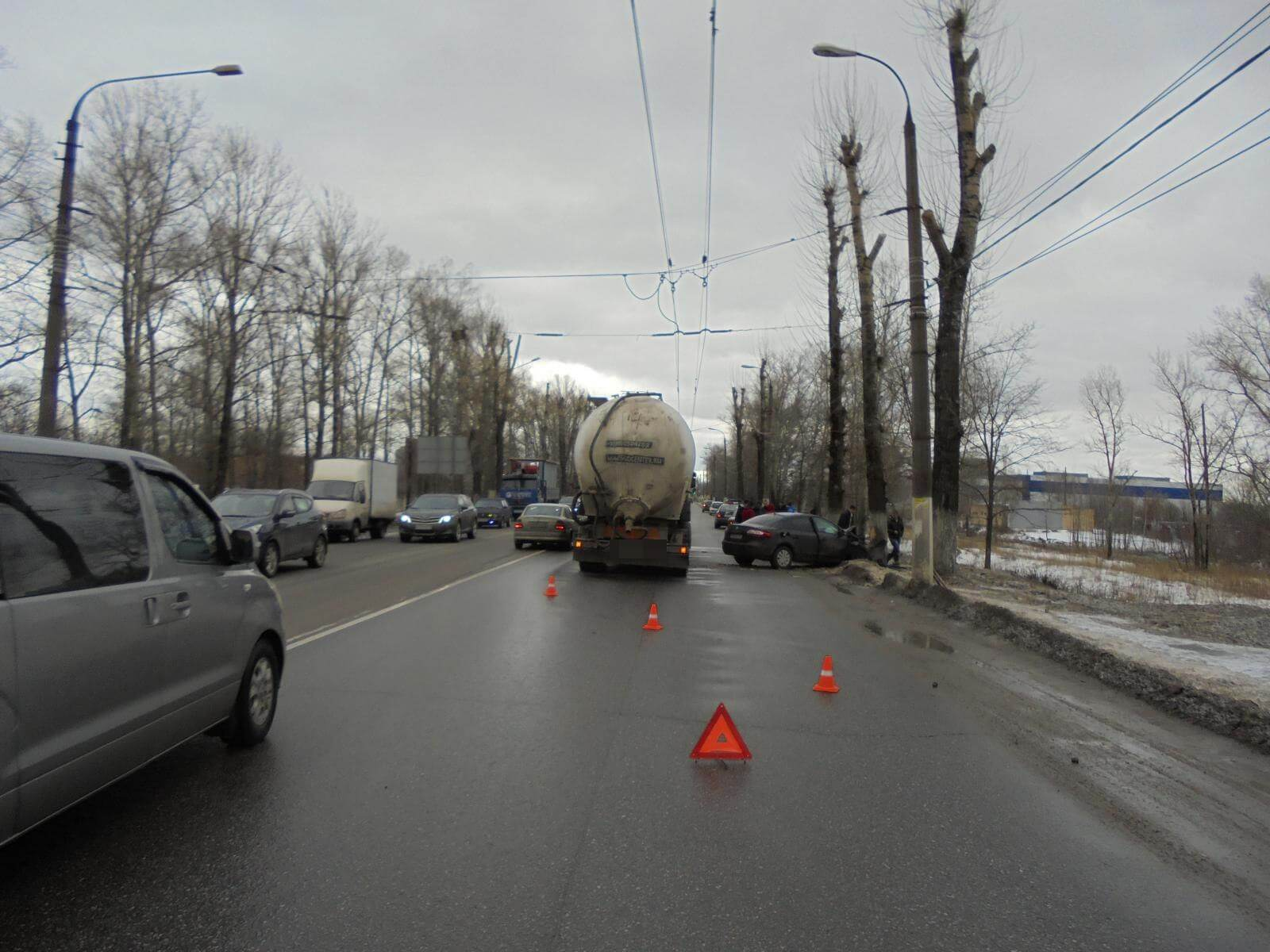 Аварийность за 3 и 4 февраля на территории Тверской области