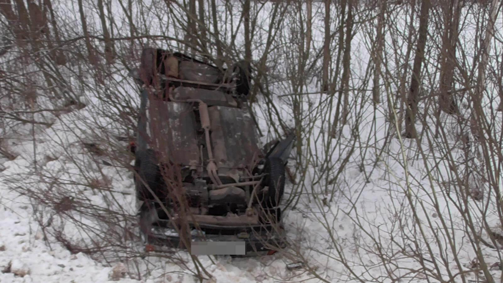 За 3 дня на дорогах области 8 человек получили травмы