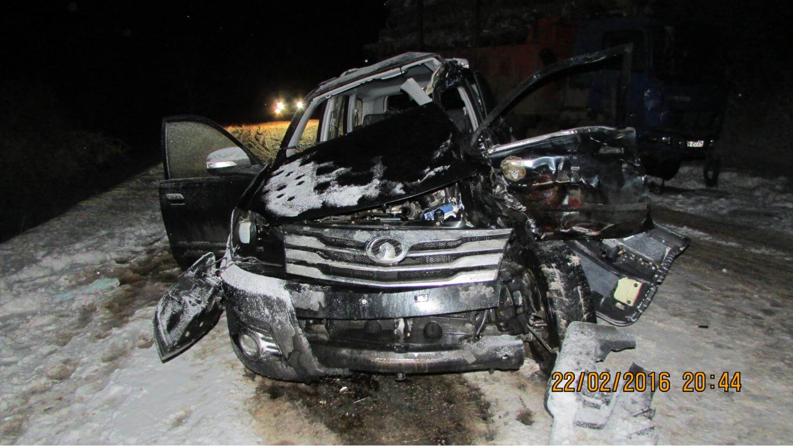 За 3 дня в 10 ДТП на территории Тверской области пострадали 23 человека