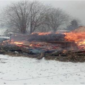 фото В Осташковском районе жилой дом сгорел из-за неправильного обращения с газовым оборудованием