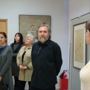 """фото В Твери проходит выставка Геннадия Самойлова """"Четыре взгляда. Рисунок. Живопись. Акварель. Книга"""""""