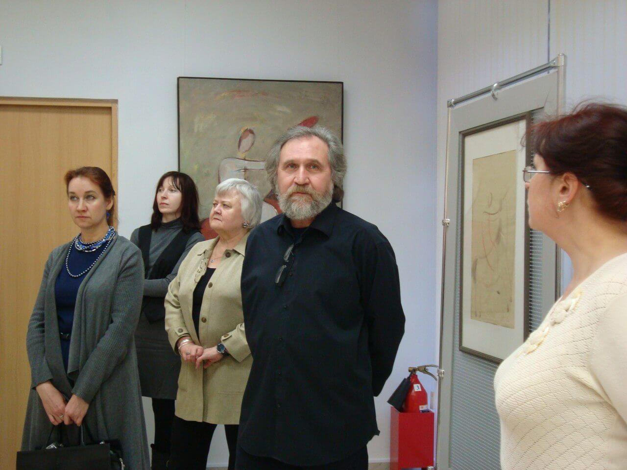 """В Твери проходит выставка Геннадия Самойлова """"Четыре взгляда. Рисунок. Живопись. Акварель. Книга"""""""