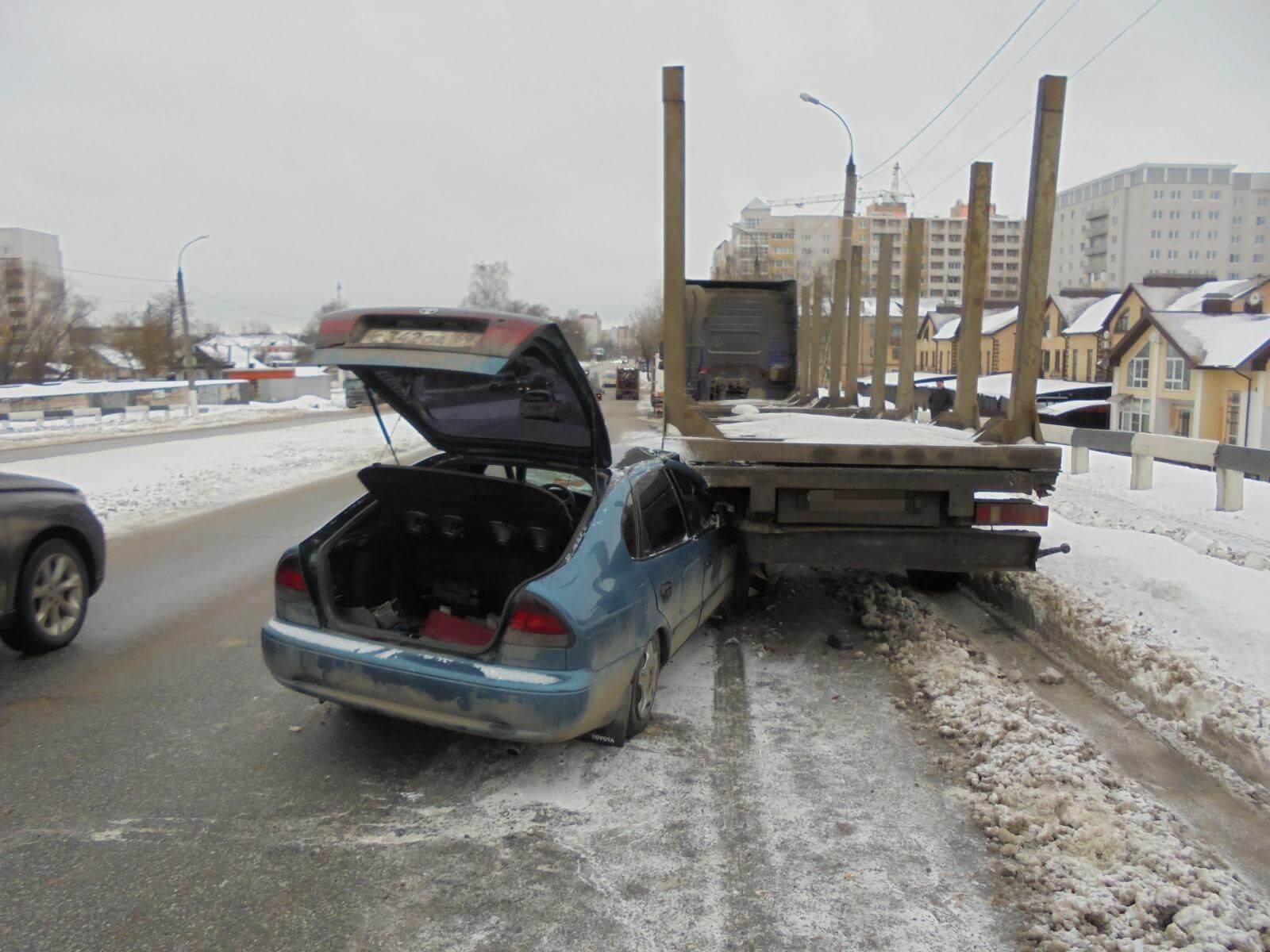 За день на территории Тверской области в 3 ДТП пострадали 4 человека