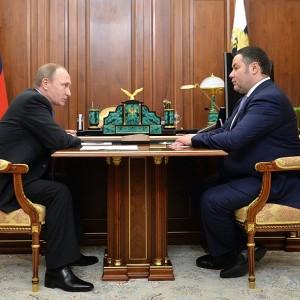 фото Владимир Путин назначил Игоря Руденю ИО губернатора Тверской области