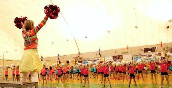 Тверская команда чирлидеров успешно выступила на Открытом чемпионате Республики Беларусь и этапе Евролиги
