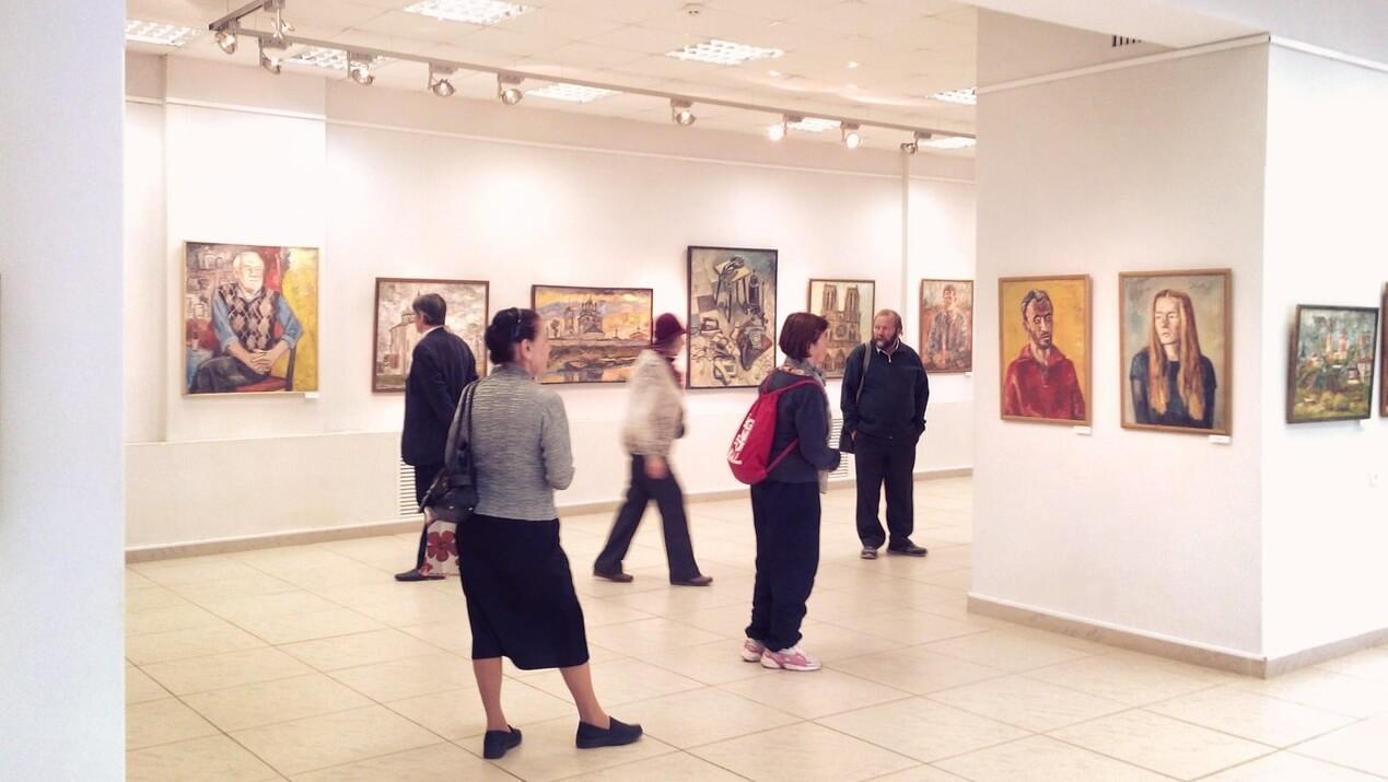 """В Твери состоялось открытие выставки Федора Помелова """"За далью даль"""""""