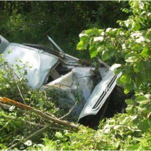 фото В Рамешковском районе автомобиль вылетел в кювет, есть пострадавшие