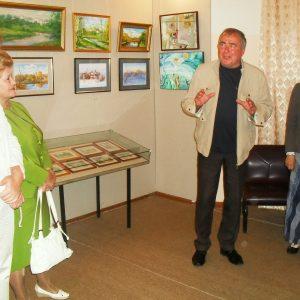 фото В Кашинском музее работает выставка угличских художников