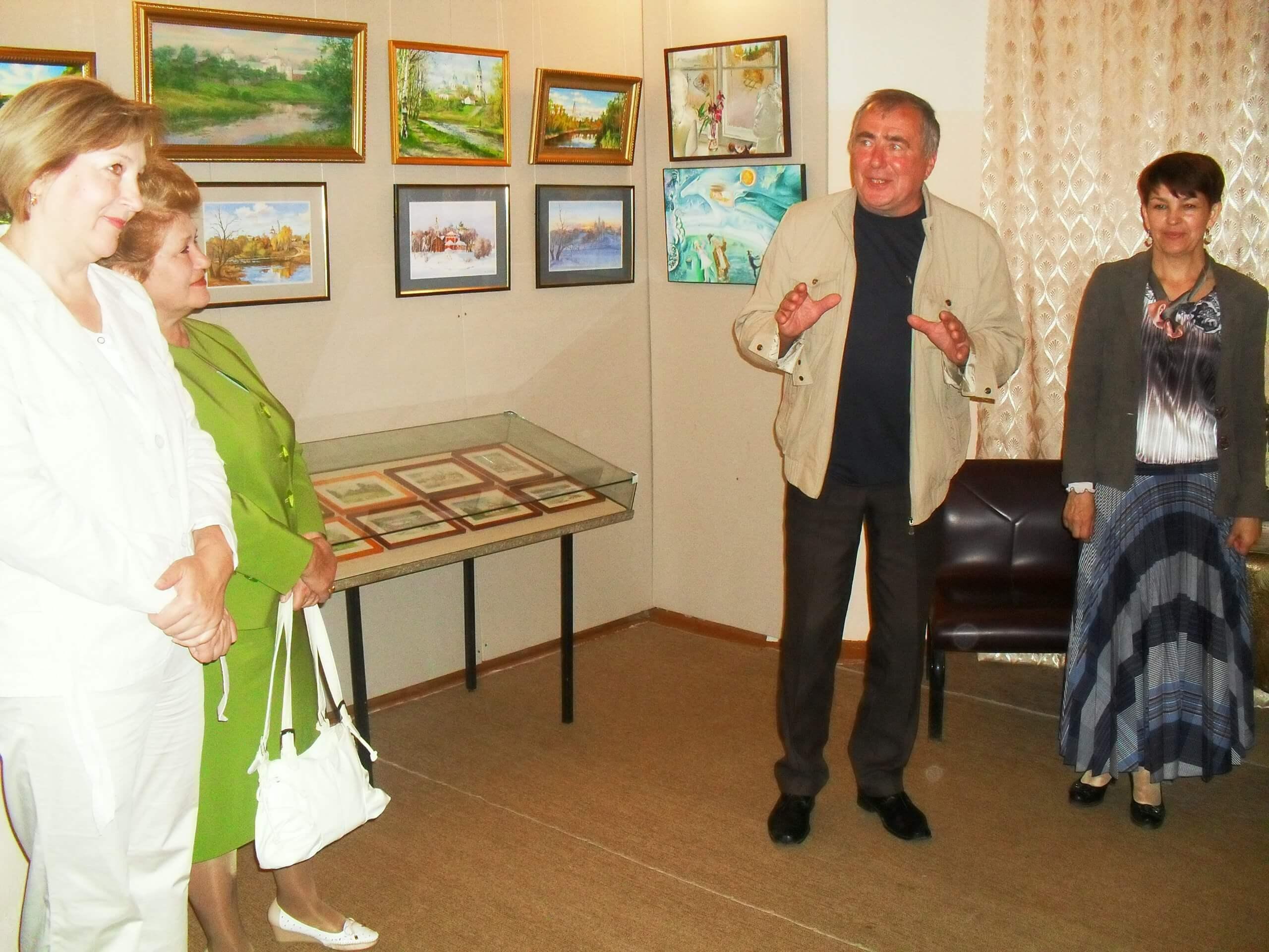 В Кашинском музее работает выставка угличских художников