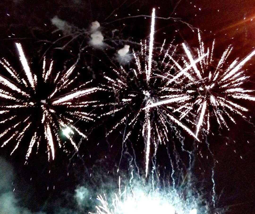 Празднование 800-летия Ржева завершилось красочным лазерным шоу и фейерверком