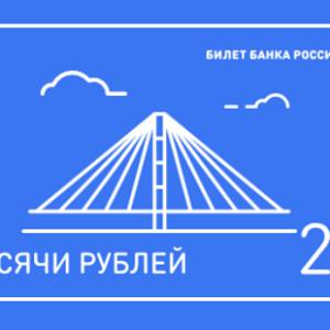 фото Центробанк России предлагает выбрать символ для новых банкнот