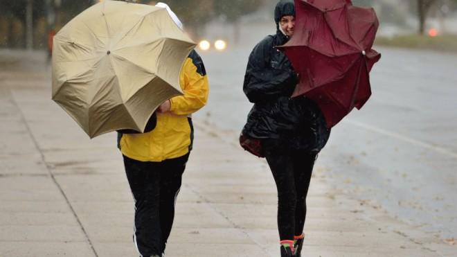 В выходные на территории Тверской области ожидается сильный дождь и ветер порывами 12-17 м/с