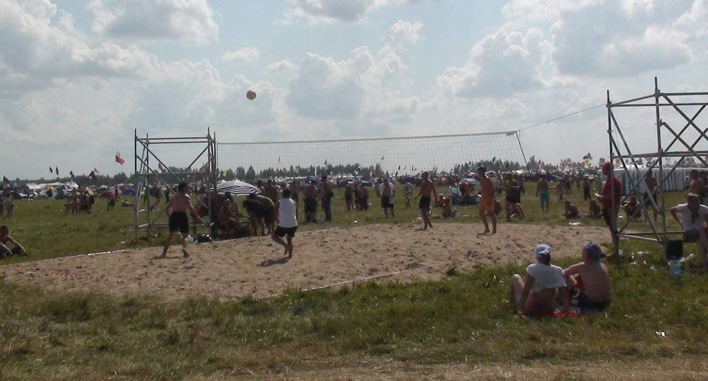 """Открыта регистрация на участие в турнирах по пляжному волейболу и футболу на фестивале """"Нашествие"""""""