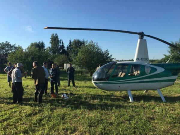 Волонтеры разыскали мужчину, заблудившегося в лесу в Тверской области
