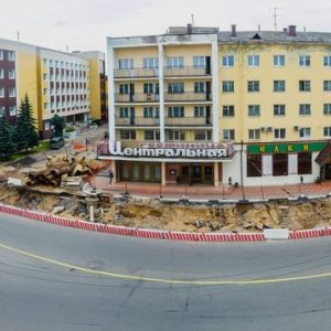 фото Движение в районе Тверского цирка будет перекрыто до осени