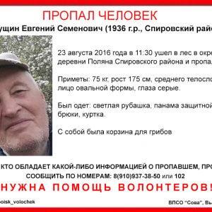 фото В Спировском районе пропал Евгений Гущин