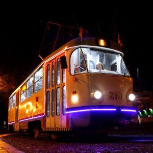 фото В Твери планируют создать новогодний трамвай