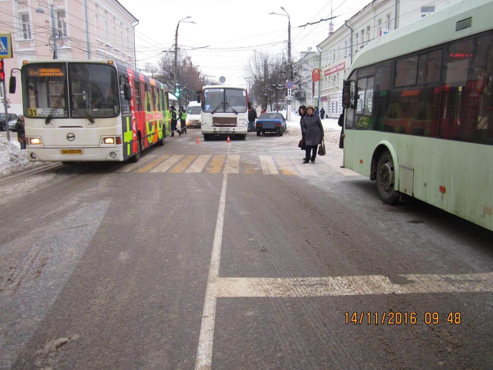 14 ноября на территории Тверской области в 4 ДТП 1 человек погиб и 5 человек получили травмы