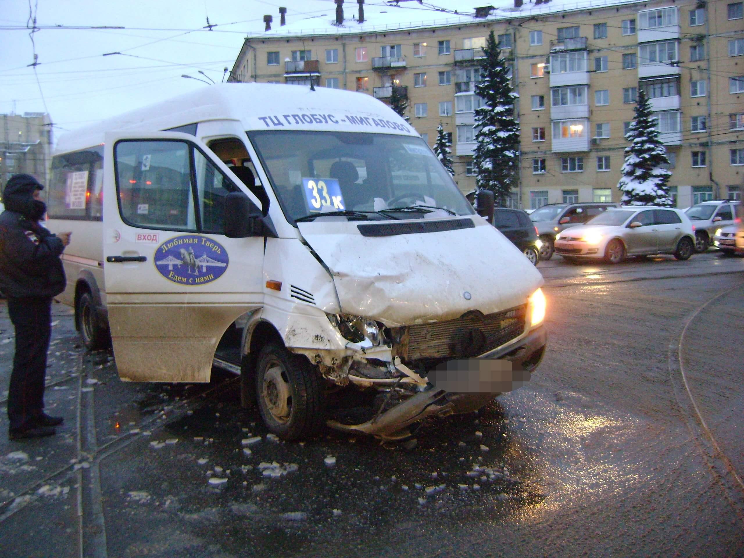 В Тверской области в 3 ДТП 1 человек погиб и 11 человек получили травмы