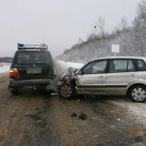 фото За 3 дня в ДТП на дорогах области 2 человека погибли и 16 человек получили травмы