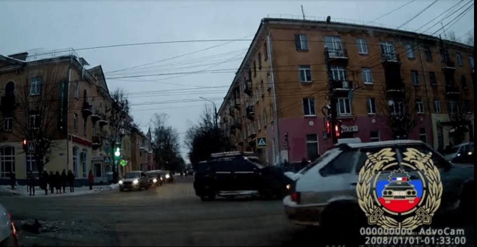 Водитель, уехавший с места ДТП в Твери, найден (Видео)