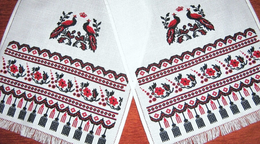 Виды вышивки традиционной 86