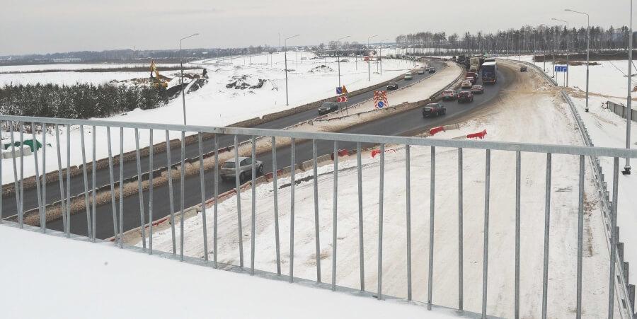 Развязку на въезде в Тверь планируют ввести в эксплуатацию к концу 2016 года