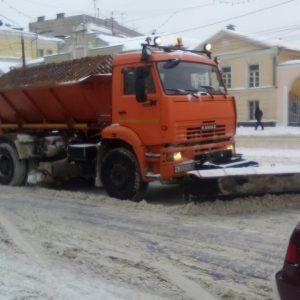 фото За сутки в Твери вывезено более 4 тысяч кубометров снега
