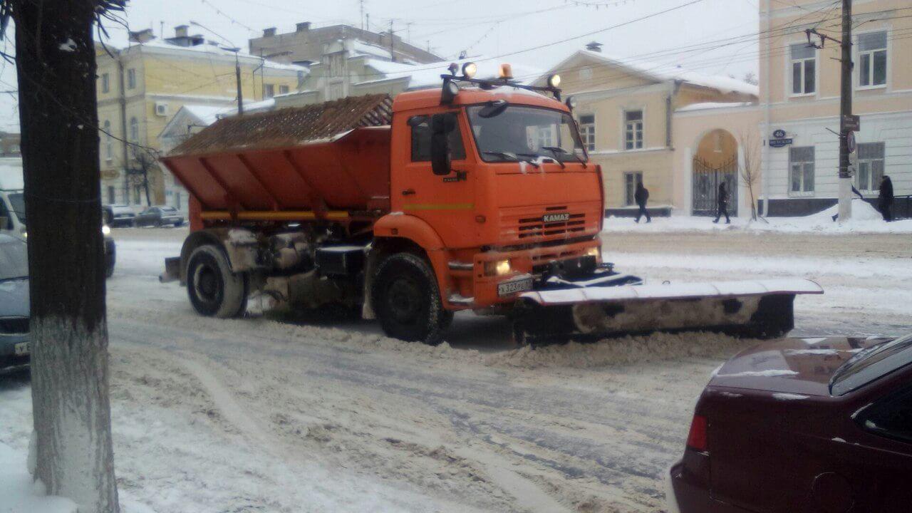 За сутки в Твери вывезено более 4 тысяч кубометров снега