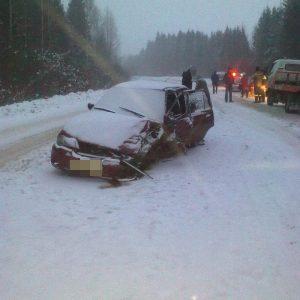 фото Из-за неожиданной зимы на дорогах области пострадали 8 человек