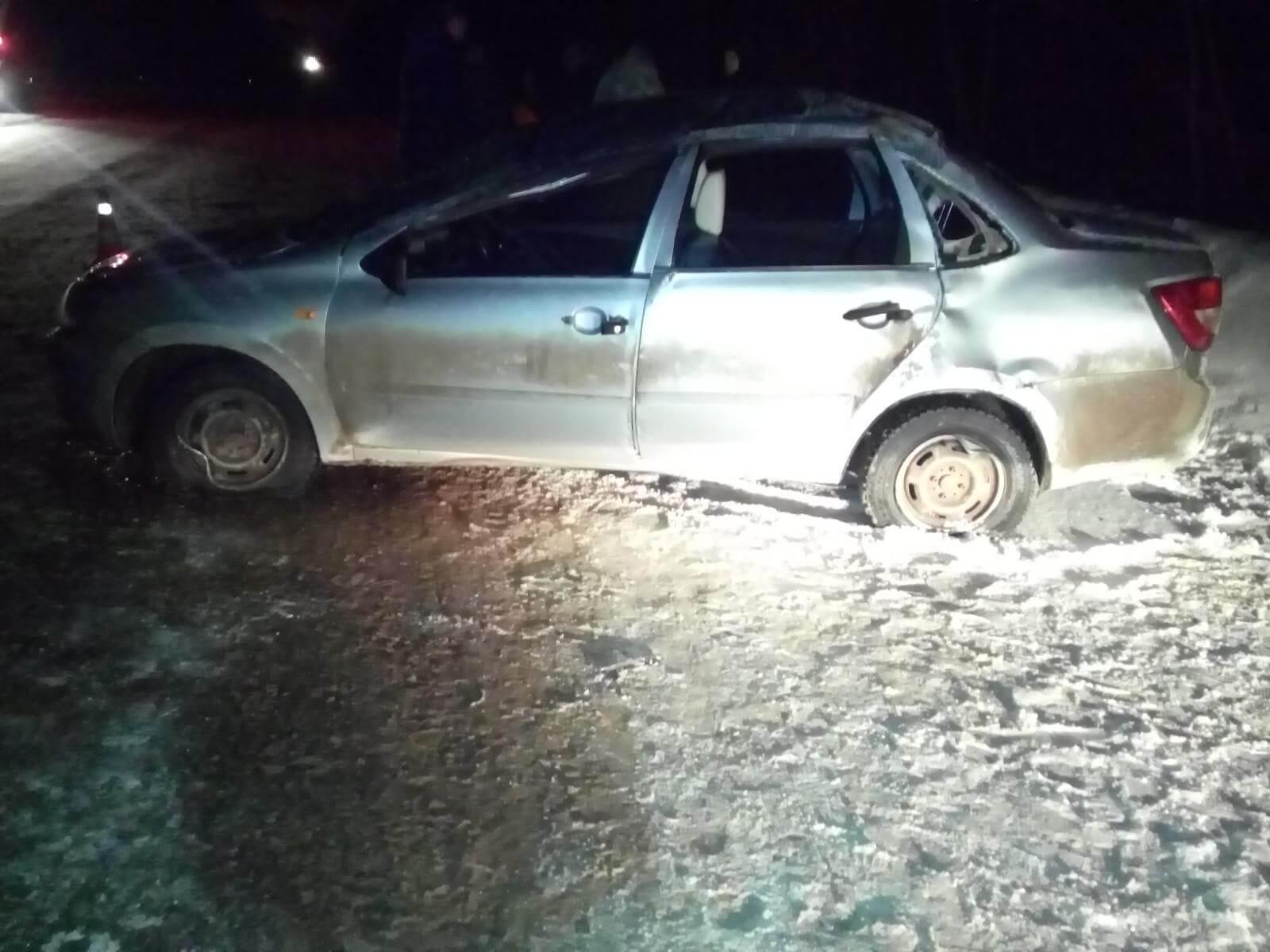 7 декабря на дорогах области в 4 ДТП пострадали 9 человек