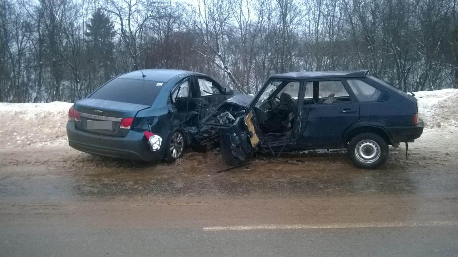 За выходные в Тверской области в 11 ДТП пострадали 11 человек