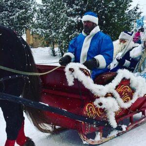 фото Тверь встретила Деда Мороза и Снегурочку