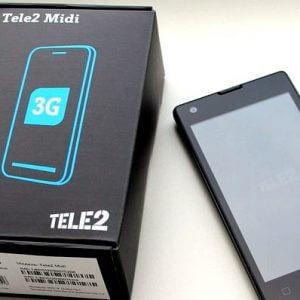 фото Недорогой смартфон от Теле2 теперь поддерживает 4G