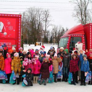 фото Рождественский караван Coca-Cola проехал через Тверь