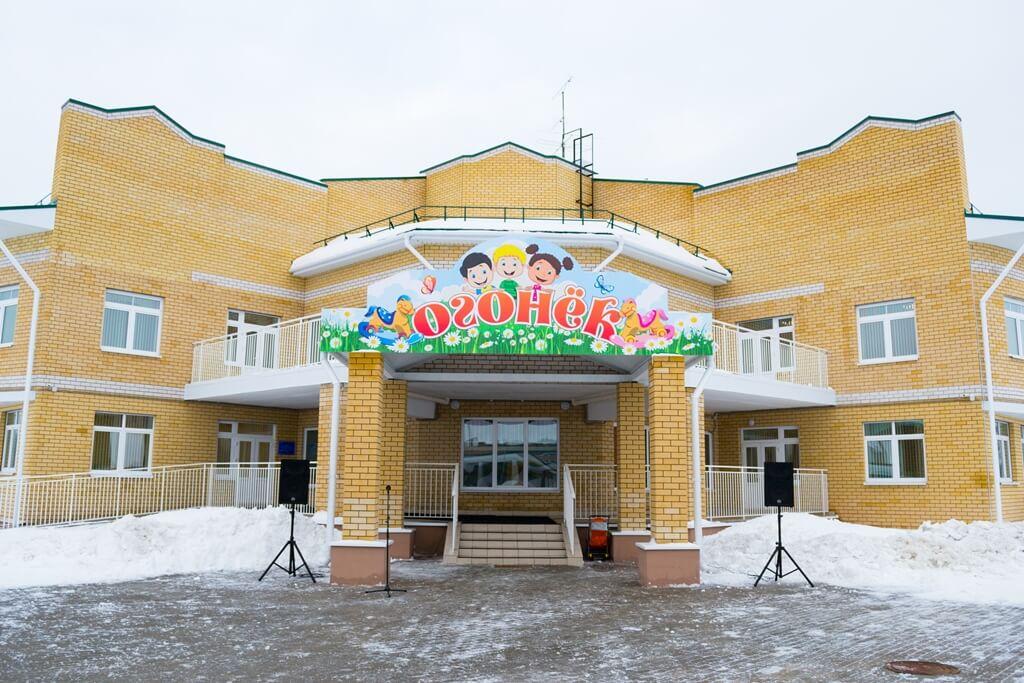 В поселке Чуприяновка перед Новым годом открыли детский сад
